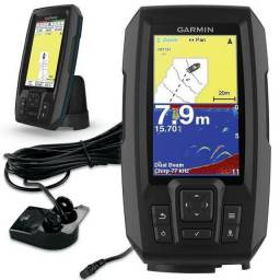 Sonar Garmin Striker Plus 4 + Transducer Tela De 4.3 C/ Gps