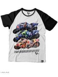 Camiseta Oficial MotoGP modelo raglan