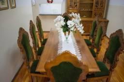 Conjunto de cozinha .madeira macisa
