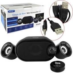 Título do anúncio: Caixa de som Pc 11W Knup Kp-6018BH Bluetooth