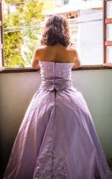 Vestido de dama ou debutante