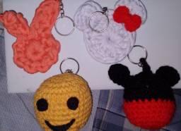 Peças em crochê disponíveis