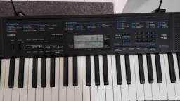 teclado casio c/ suporte 2300 r$480