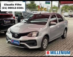Título do anúncio: Menor Preço - Etios 1.5 X Plus Sedan C/GNV 2020 - automático - Oportunidade