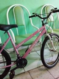 Título do anúncio: Bicicleta nova aro 24 com marcha.ja e o menor preço 300 reais