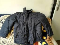 Casaco/jaqueta de Naylon preto