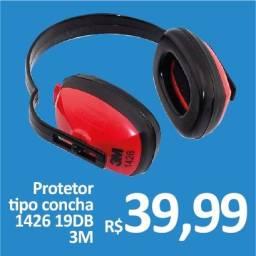 Abafador Protetor Auricular Tipo Concha 19DB - 3M - Promoção R$ 39,99