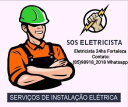 Título do anúncio: ELETRICISTA SERVIÇOS 24HS.