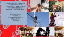 Título do anúncio: Eletricista com atendimento 24horas