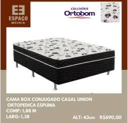 Título do anúncio: Cama Casal Unibox Ortobom #Entrega e Montagem Grátis