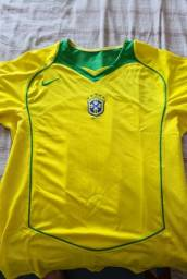 Camisa Oficial Seleção Amarela 5 estrelas