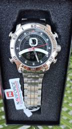 Relógio Naviforce (NF9181) Prata