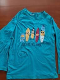 Blusa proteção solar Tam 2 Hering