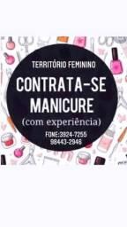 Título do anúncio: Manicure