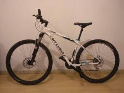 Bike Cannondale Trail6 29 toda Shimano e suspensão Rock Shox