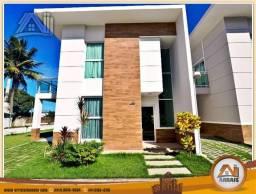 Título do anúncio: Vendo casa duplex em condomínio c/ 3 suítes no Eusébio