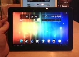 """Tablet Samsung 10.1"""" , 3G e chip, camera com flash, Stereo. bateria 7000mh. Negocio e troc"""