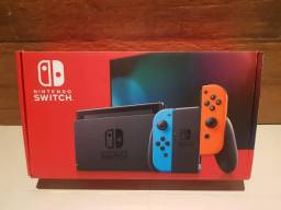 Nintendo Switch NOVO MODELO NOVO!!!