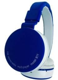 Fone De Ouvido Wireless Bluetooth Micro Sd Fm B11
