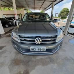Volkswagen Amarok 2.0 Highline 4X4 CD 16V Turbo Intercooler Diesel Automática - 2014