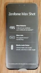 Zenfone max shot NOVO na caixa