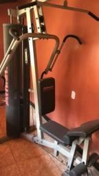 Estação de musculação completo. Athletic Advanced 300M