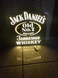 Painel luminoso Jack daniels