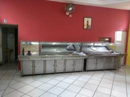 Buffet self-service inox