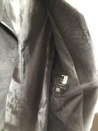 Casaco de cotelê masculino tamanho 58