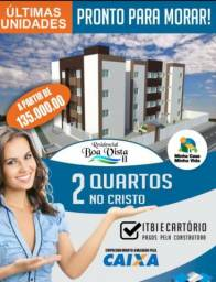 Apartamento no Cristo Varanda Próx Campo Botafogo