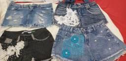 Shorts e vestidos