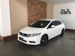 Honda - civic 2.0 lxr flex 4portas automático único dono apenas 45.000 km rodado - 2016