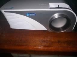 Mini projetor betec 1600 lumes