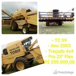 Colheitadeira New Holland TC 59 4x4