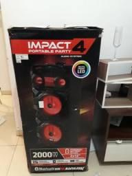 Impact 4 2000 wts rms preço de desapego