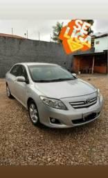 Corolla xei 1.8 automático ano 09/10 top com garantia e ipva em dia.991588860 - 2010