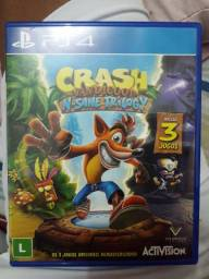 Jogo Crash N. Sane Trilogy - PS4