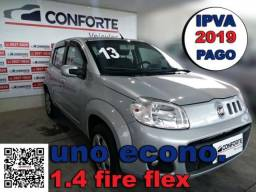 Fiat uno 2013 1.4 evo economy 8v flex 2p manual - 2013