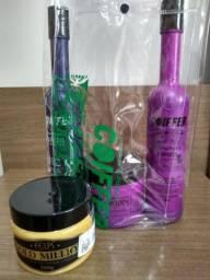 Kit Coiffer: 2 shampoos e 2 máscaras de tratamento
