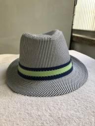 Chapéu infantil Panamá listrado de7d9aacf90