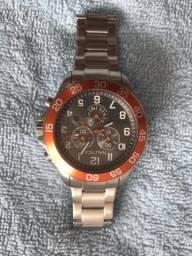 Relógio Náutica Laranja
