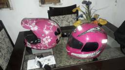 Vendo os dois capacetes