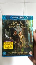 Blu-Ray Jack e O Caçador de Gigantes 3D + 2D [Duplo/Importado]