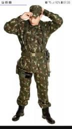Uniforme militar novo nunca usado