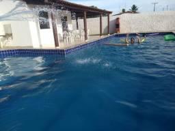 Casa com piscina em Santo Estevão Bahia