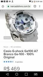 377581cb12f G-shock modelo 100A original pode levar na relojoaria e fazer todos os  testes