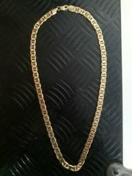 Cordão de prata banhado a ouro, 991134746