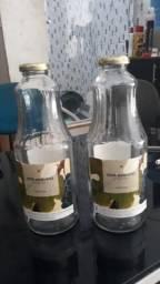 Vendo garrafas de vidro de 1L!!!!!