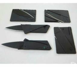 Canivete Faca Cartão Dobrável ( Leia a Descrição )