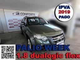Fiat palio weekend 2010 1.8 mpi adventure locker weekend 16v flex 4p automatizado - 2010